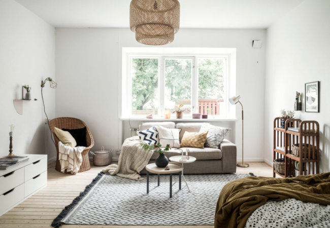 How to decorate a flat when you are a tenant