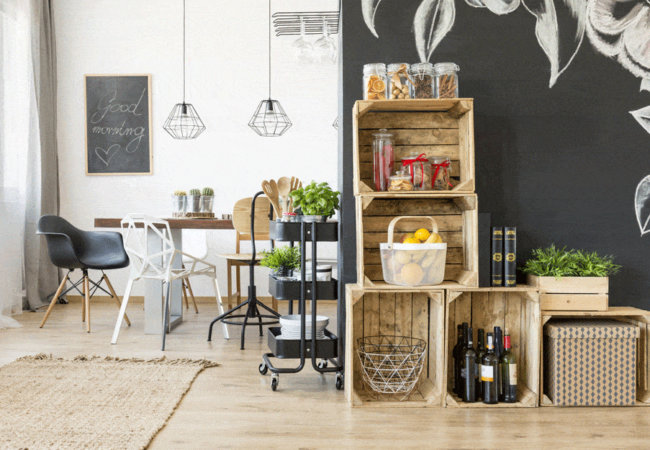 How to use upcycling in home decor?