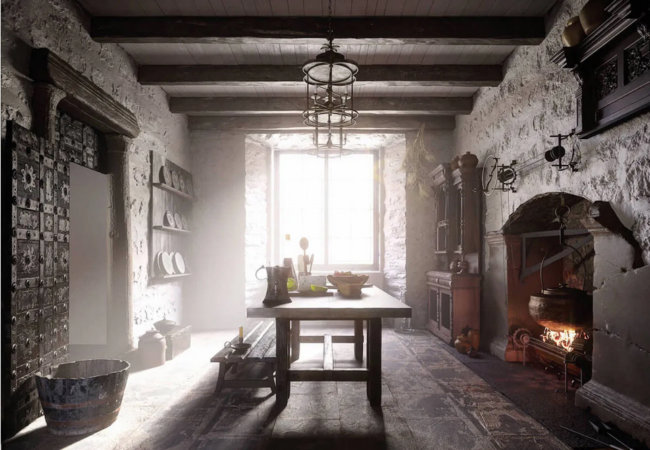 How kitchen design evolved in 500 years